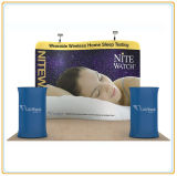 Wave-Line Tension Fabric Display (8ft S Shape)