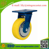 Powder Coating Baked Heavy Duty Casters