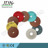 4 Inch Water Polishing Pads for Granite Marble Concrete