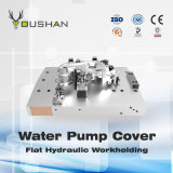 Water Pump Cover Hydraulic Workholding Fixture with Feeler Machining Center