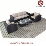 Outdoor Wicker Sofa Set in Brown (1106)