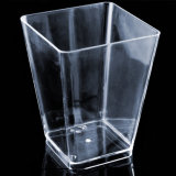 Plastic Cup Large Geometric Kova Cup Clear 6 Ounces