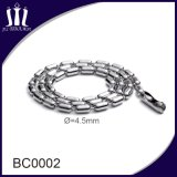 Wholesale Stainless Steel Beaded Metal Ball Necklace Chain