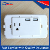 High Quality Electrical Universal USB Wall Socket