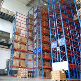 ISO Approved Steel Very Narrow Asile Storage Pallet Racking System