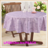 Hot Sale PEVA Printed Tablecloth for Home/Party/Banquet/Hotel Use