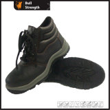 Basic Style Leather Safety Shoe with Steel Toe Cap (SN1384)