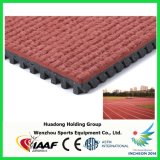 Prefabricated Rubber Athletic Running Tracks for Outdoor Sport Flooring