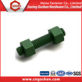 Dacromet A193-B7 Stud Bolt and Heavy Hex Nut