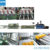 High Efficient PVC Pipe Four Stand Electric Protection Extrusion Line