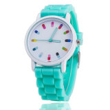 Custom Design Changeable Face Silicone Jelly Watch