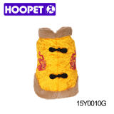 Winter Dog Clothing with Dragon Pattern Supplies