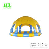 Round Inflatable Swimming Pool with Cover