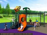 Kaiqi Cute Children′s Slide and Swing Set for Children and Toddlers (KQ50156C)