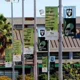 Street Flag Pole Vertical Banners