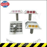 Aluminum 150*150*25mm 3 White Cat Eye Reflective Road Stud