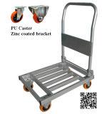300kg Platform Folding Metal Trolley for Warehouse