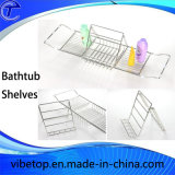 Hot-Selling Extending Bathtub Caddy, Bathtub Rack Shelf