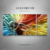 Rainbow Light Abstract Metal Wall Art for Decoration