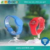 Waterproof Custom Logo Ntag213 RFID Silicone Wristband