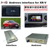 Car Android Interface GPS Navigation Box with Mirrorlink/DVD/Bt for 13-16 Honda Xrv (Left Driving)