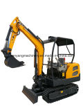 China Construction Machinery 1800kg Mini Digger for Sale
