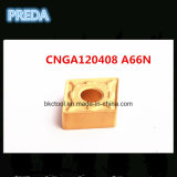 Preda Turning Carbide Tips PVD Coated Cnga120408 A66n