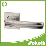 Chrome Classic European Zinc Lever Door Handle, Chrome Door Handle
