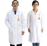 Medical White Style Cotton Scrub Uniforms for Doctor
