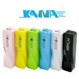 Wholesales 2600mAh Portable Mobile Power Bank for iPhone & Android