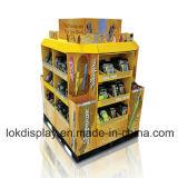Heavy Duty Corrugated Display Stands, Cardboard POS Display
