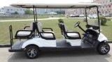 Environmental-Friendly 48V 6 Passengers Electric Golf Buggy