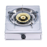 Single Burner Stainless Steel 120 Steel Cap Slim Type Gas Cooker/Gas Stove