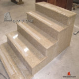 Yellow Granite Stone Step/Stair for Building Project