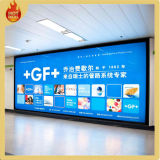 Airport Indoor Wall Mounted Advertising Display Light Box
