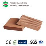 Solid Wood Plastic Composite Decking for Outdoor Use (HLM128)