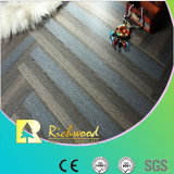 Commercial 8.3mm HDF Crystal Oak Sound Absorbing Laminate Floor
