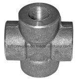 Forged Steel High Pressure Threaded/Socket Weld Cross