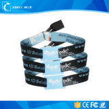 RFID ISO 18000-6c UHF Fabric Party Wristbands Woven Wristbands for Party