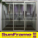 Aluminium Profile Sliding Door for Balcony and Popular in Israel