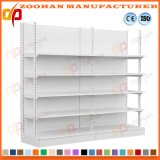 Powder Coating Heavy Duty Steel Shelving Supermarket Display Shelf (Zhs116)