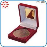 Velvet Box for Medal for Challenge Coin for Badge