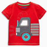 Popular Kids Tshirt with Patch Embroidery (A153)