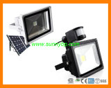Solar 50W LED Flood Light with PIR Sensor