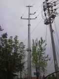 Electrical Power Transmission Galvanized Steel Pole