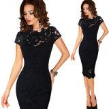 Women Elegant Sexy Office Dress Party Evening Dress