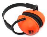 Fashion Orange Design Safety ABS Earmuff with Ce