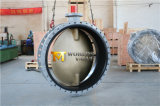 Dn1400 Big Size Double Flanged Butterfly Valve with Al-Bronze C95400 Disc