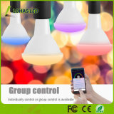 Smartphone Controlled LED Light Bulb Br30 10W RGBW WiFi Smart LED Bulb Work with Tuya APP/Amazon Alexa/Google Home