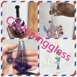 Shining New Color Glass Incycler Glass Water Smoking Pipe
